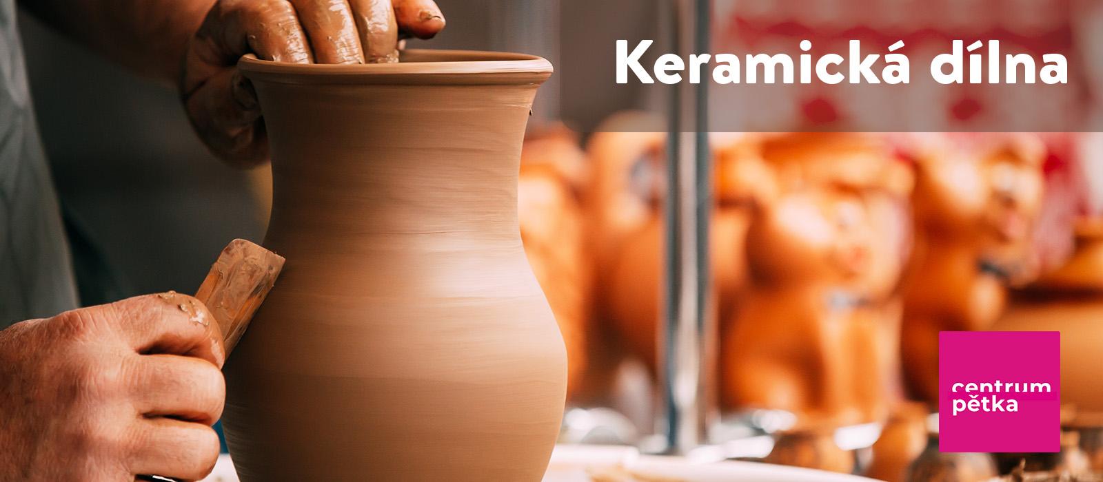 relaxace v keramické dílně