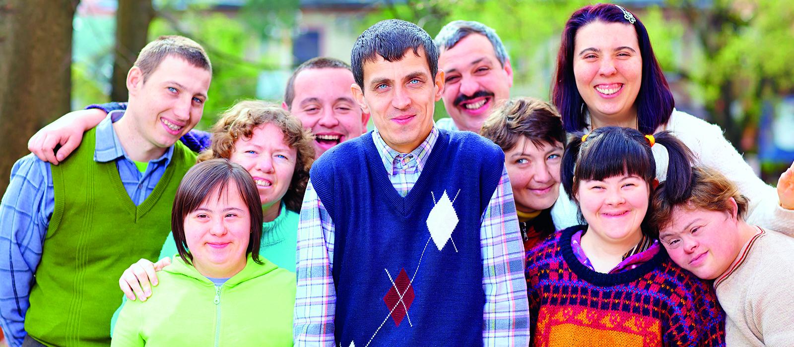 Ambulantní sociální služby mentálně postiženým dospělým